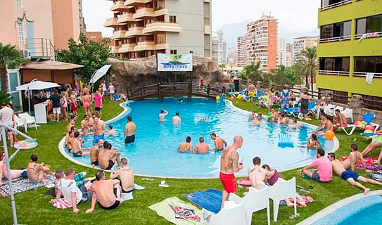 Apartamentos Magic Benidorm Celebrations Pool Party Resort