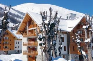 aparthotel lagrange prestige les chalets du galibier valloire alpes franceses