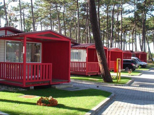 Bungalows Camping Orbitur Sao Pedro De Moel