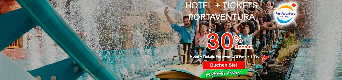 PortAventura Angebote 2021. hotels + PortAventura