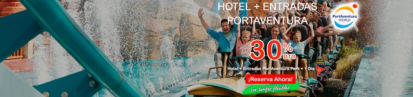 PortAventura Ofertas 2021. hoteles + PortAventura