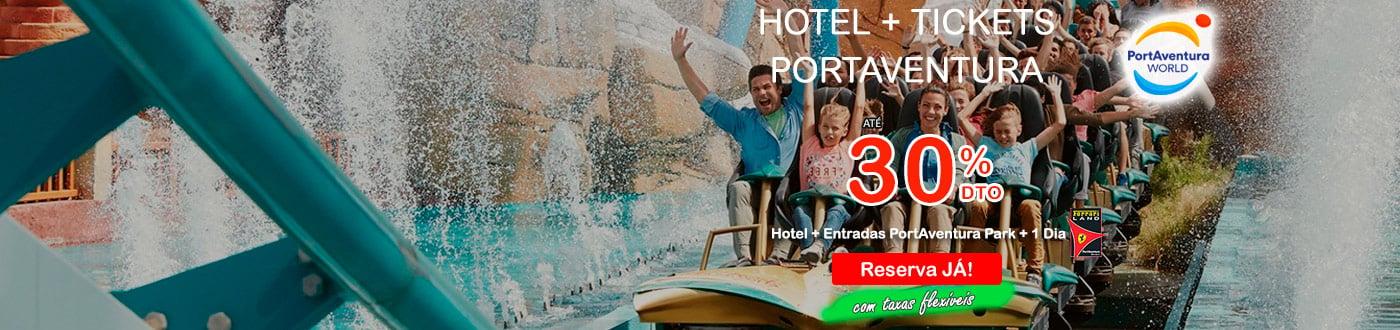 PortAventura Ofertas 2021. hoteis + PortAventura