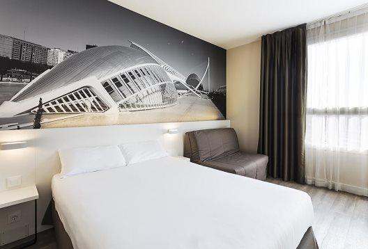 Hotel B&b Valencia Ciudad De Las Ciencias
