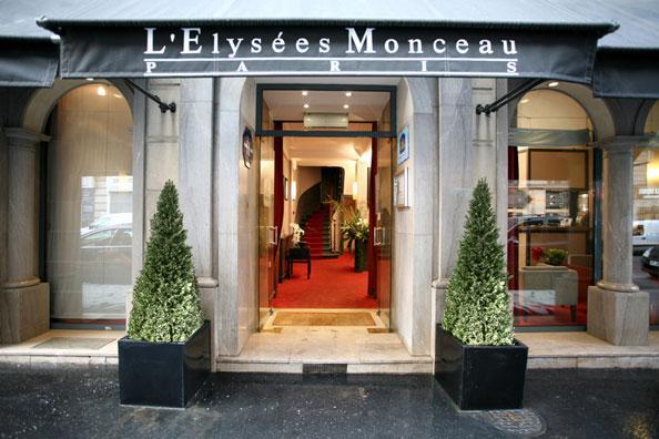 Hotel Elysees Paris Monceau