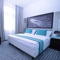 Hotel Red Blue Design Prague Praga Praga