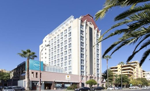 hotel vertice sevilla: