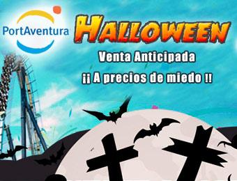 Compra tu Hotel + Entradas PortAventura para halloween 2015