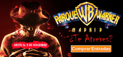 Comprar Entradas Halloween Warner Madrid