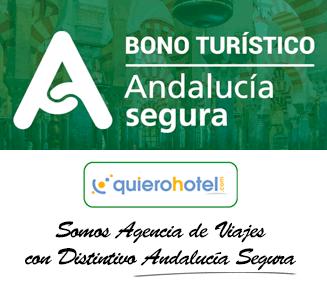 Andalucía Segura. Reserva en quierohotel disfrutando del Bono Turístico de la Junta de Andalucía