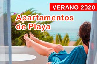 Apartamentos en la playa. Hasta 15% dto