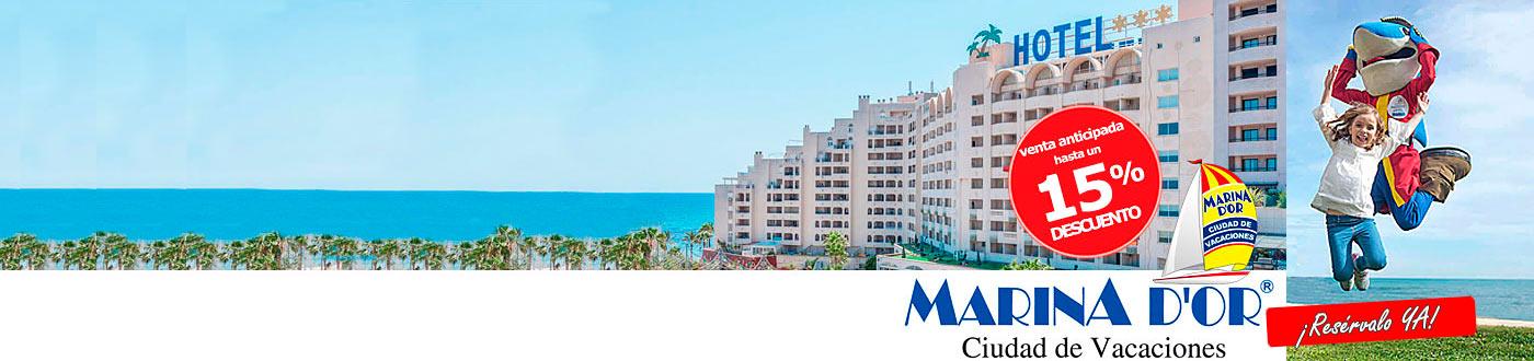 Oferta Pensión Completa Bebidas - Hotel Marina Dor Playa 4*
