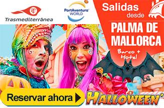 Halloween Barco + Hotel PortAventura + Traslados 4 noches desde 283€/pers.