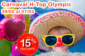 Hasta 15% dto. Carnaval HTop Olympic Calella