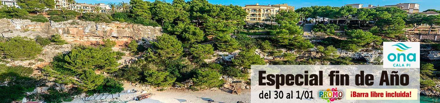 Venta Anticipada Mallorca Fin de Año Ona Cala Pi - Cena, Fiesta y Barra Libre!
