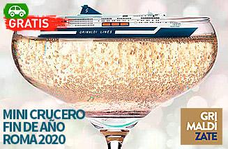 Mini Crucero Fin de Año en Roma desde Barcelona - Grimaldi