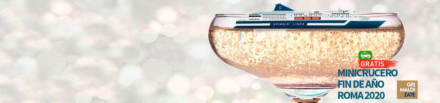 Venta Anticipada MiniCrucero Fin de Año Grimaldi - Coche Gratis!