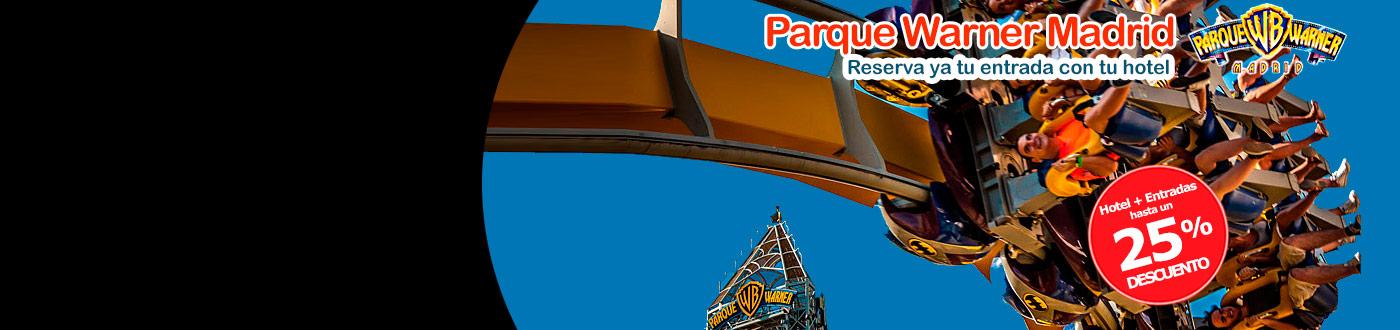 Parque Warner Madrid Reserva tus Entradas con tu Hotel para 2020