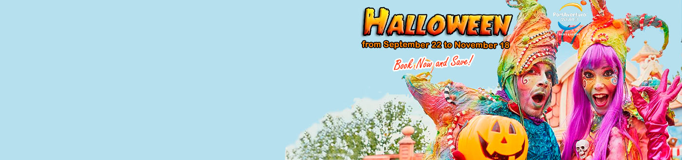 Halloween PortAventura Offers hotels + PortAventura