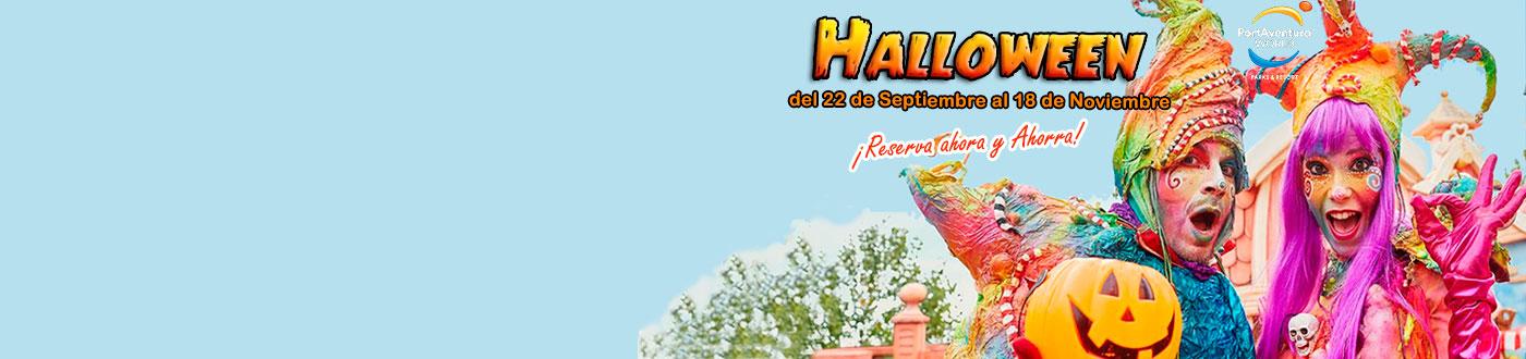 Halloween PortAventura Ofertas hoteles + PortAventura