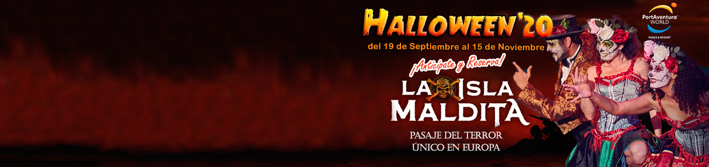 PortAventura Halloween Ofertas 2020. hoteles + PortAventura