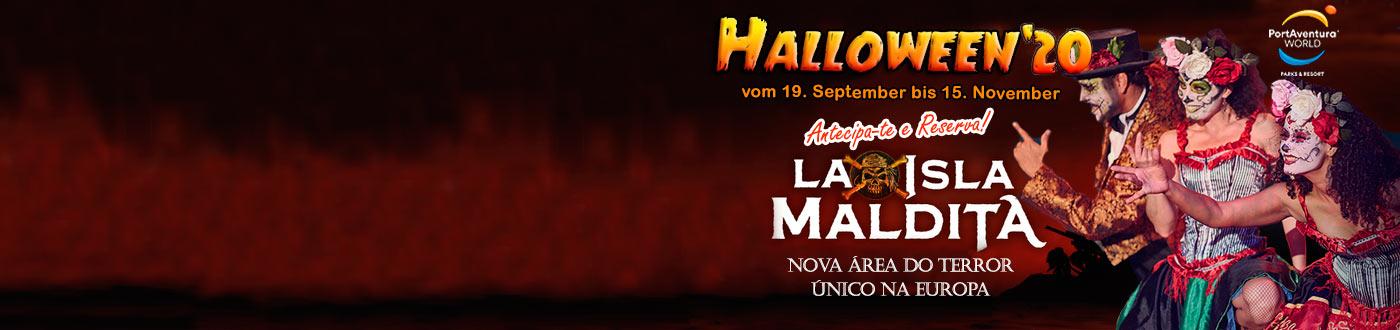 PortAventura Halloween Ofertas 2020. hoteis + PortAventura