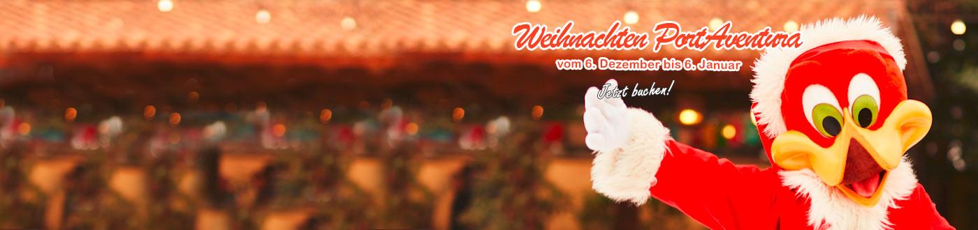 PortAventura Navidad Angebote hotels + PortAventura