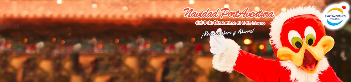 PortAventura Navidad Ofertas hoteles + PortAventura