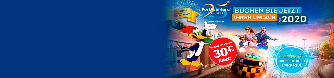 PortAventura Angebote 2020. hotels + PortAventura