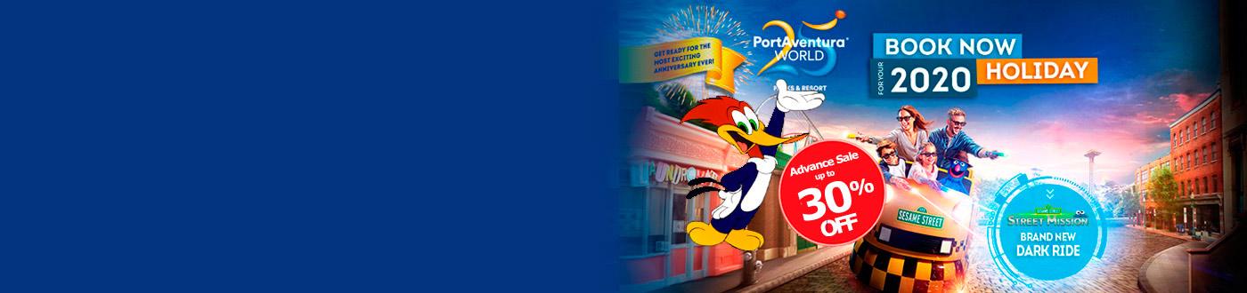 PortAventura Offers 2020. hotels + PortAventura