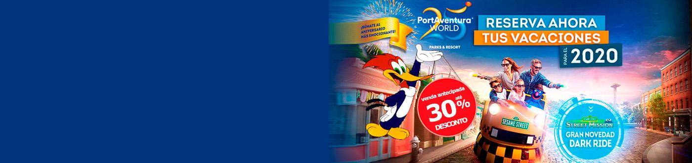 PortAventura Ofertas 2020. hoteis + PortAventura