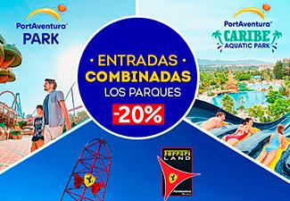 20% dto. Entradas PortAventura hasta 28/02