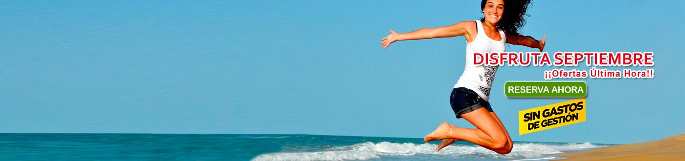 Playa en Septiembre Â¡15%DTO Aprovecha el verano!