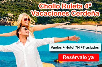Vacaciones en Cerdeña 7 noches desde 561€/pers. Vuelo + Hotel + Traslados + Tasas