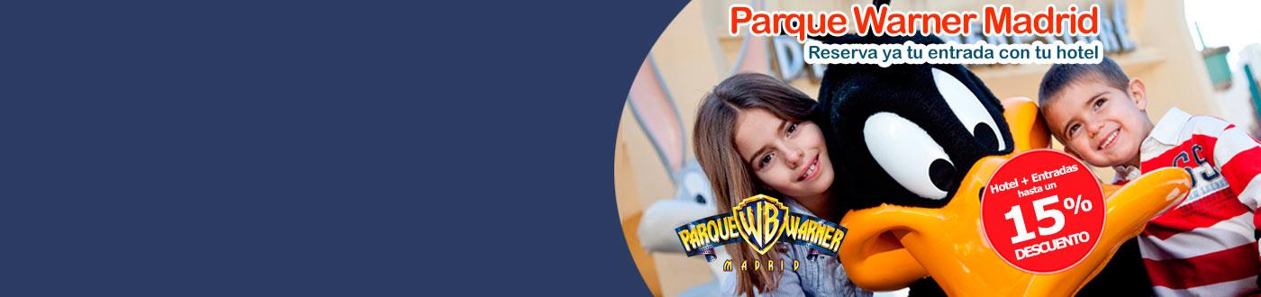 Parque Warner Madrid Reserva tus Entradas con tu Hotel para 2019
