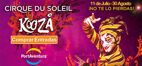 Comprar Entradas Kooza Cirque Du Soleil Portaventura
