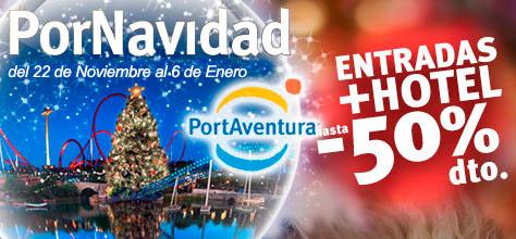 Ofertas Hoteles Navidad PortAventura