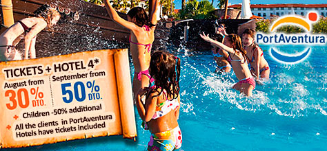 Offers Hotels PortAventura