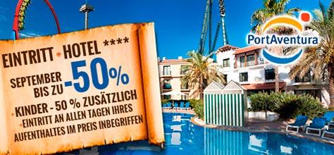 Angebote Hotels PortAventura