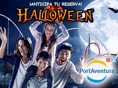 Ofertas PortAventura Halloween y Navidad - ¡30% Dto Hotel con Desayuno + Entradas!