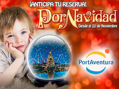 PortAventura Ofertas Navidad y Fin de Año - ¡30% Dto Hotel con Desayuno + Entradas!