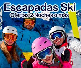 Ofertas 2 Noches Ski + Forfait