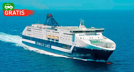 Mini Crucero Fin de Año Roma Grimaldi