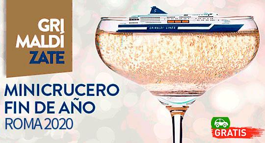 Black Friday Mini Crucero Fin de Año 7 Días/6 Noches del 28 de Diciembre al 3 de Enero
